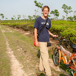 Riding Bikes Through Tea Estates Outside Srimongal, Bangladesh