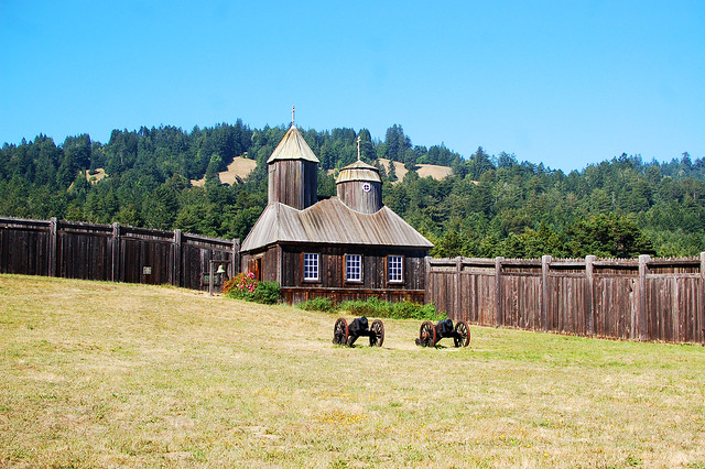 fort ross chapel