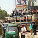 Riding On Top of the Bus - Bandarban, Bangladesh