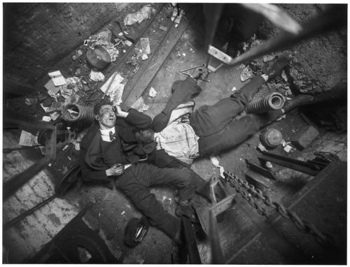 Crime Scene, New York, by Weegee