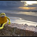 Small photo of Flat Eric et la baie du Mont Saint-Michel