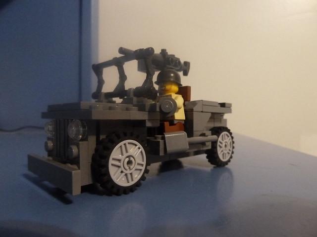 Lego Ww2 Willys Jeep Instructions