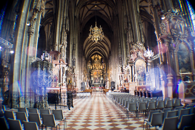 Nave central del Stephansdom