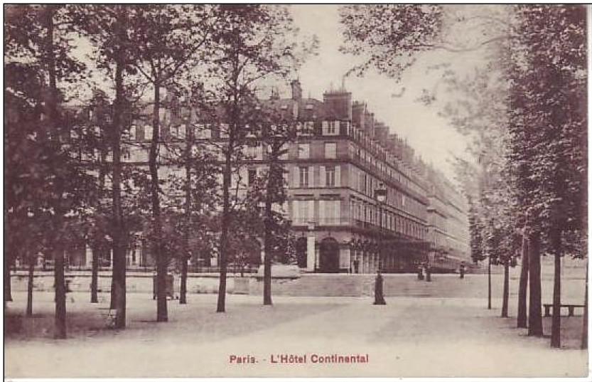 Hôtel Continental, Paris