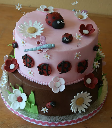 ladybug baby shower cake flickr photo sharing