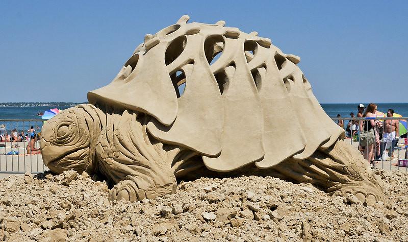 2011 Revere Beach Sand Sculpture Festival