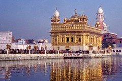 The Harmandir Sahib (Golden Temple)