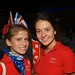 Tue, 2011-07-19 08:36 - Two Team Canada-MILSET members at the opening ceremony of MILSET ESI 2011.