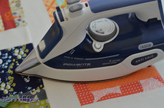 Making of a Quilt sandwich - Fusible Batting Tutorial