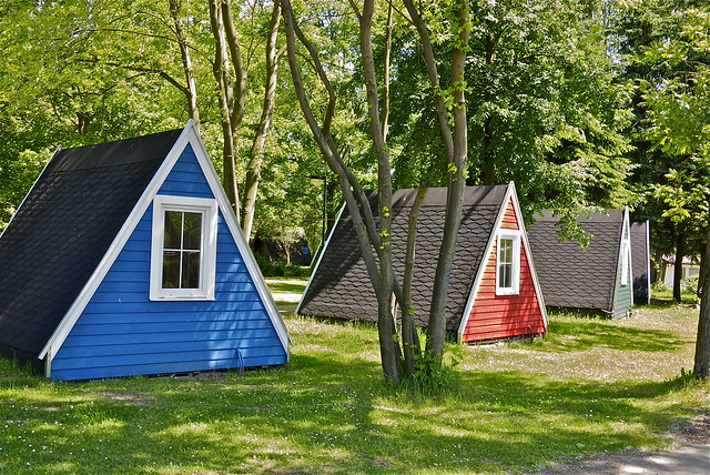 Wood Tents Flickr Photo Sharing