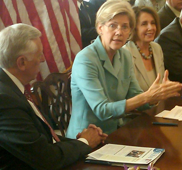 Elizabeth Warren and Leader Pelosi