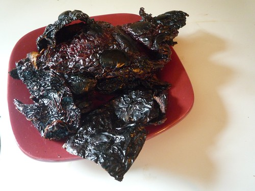 Toasted chiles