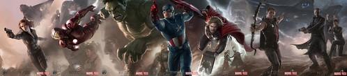 110725(2) - 2012年電影《The Avengers 復仇者聯盟》七大英雄合體海報,正式出爐!