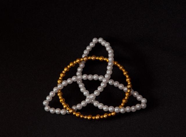 beaded chrismon ornament flickr photo