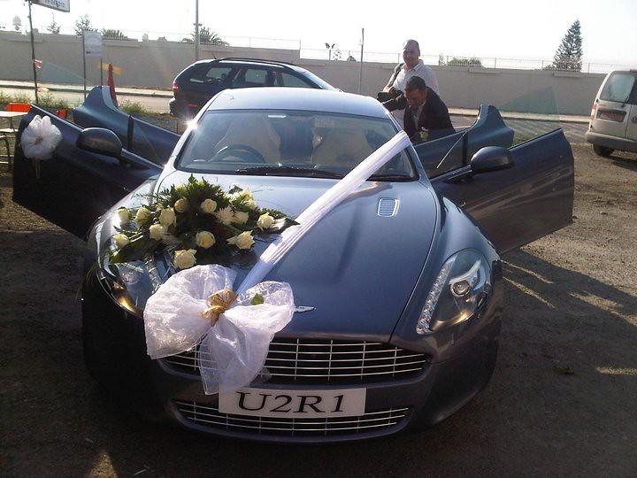 Aston Martin Rapide Our Wedding Car!