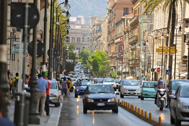 Via Roma (Palermo, Sicily)