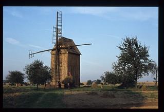 83. Windmühle in der Gegend von Poznań.