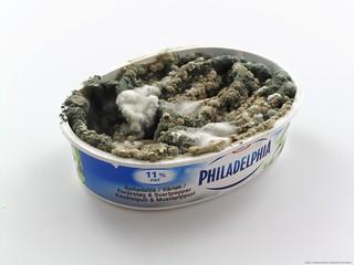 CreativeTools.se - PackshotCreator - Philadelphia cheese with mold
