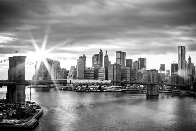 Brooklyn Bridge & Financial District