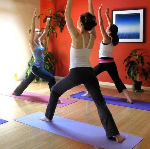Physical therapies such as yoga