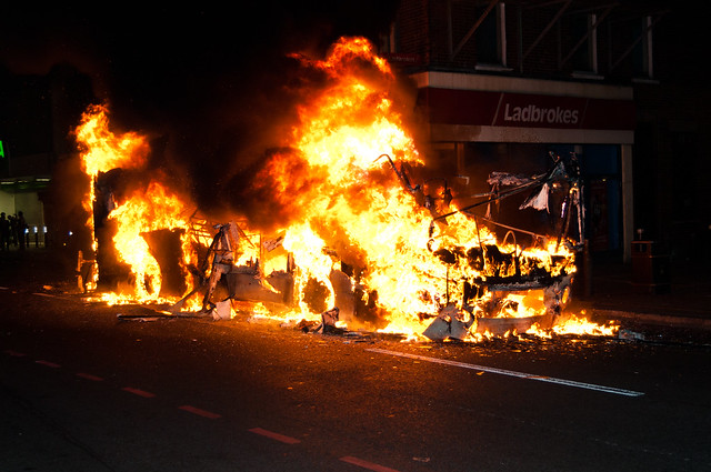 Tottenham Riots - 6th August 2011