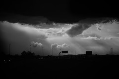 storm(0.0), thunderstorm(0.0), lightning(0.0), night(0.0), thunder(1.0), cloud(1.0), monochrome photography(1.0), monochrome(1.0), darkness(1.0), black-and-white(1.0), sky(1.0),