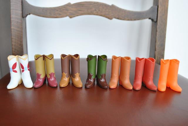Takara Cowboy Boot Collection