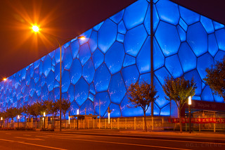 Beijing Olympic Park by Gin-Lung Cheng