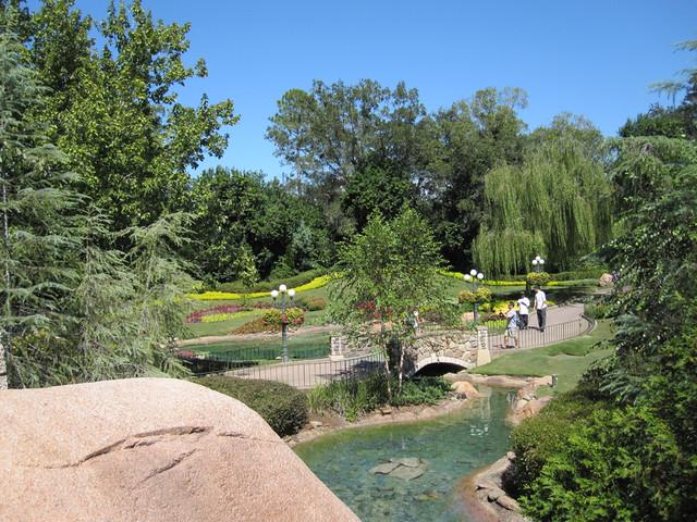 Victoria Gardens in October