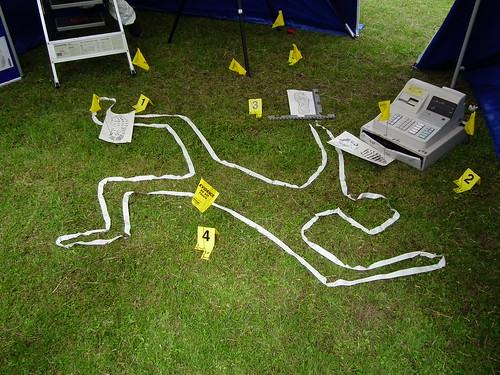 Kent Police Crime Scene by kenjonbro