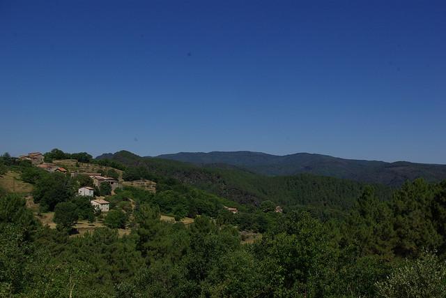 vallée du Galeizon en été