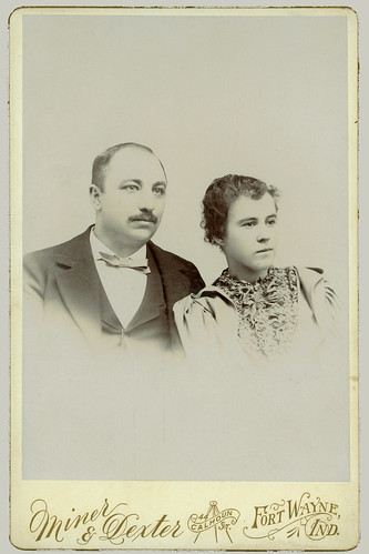 Cabinet Card couple portrait