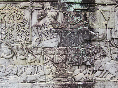 Story of the Leper King at The Bayon