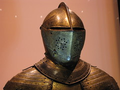 armour, art, close-up, iron, bronze, headgear,