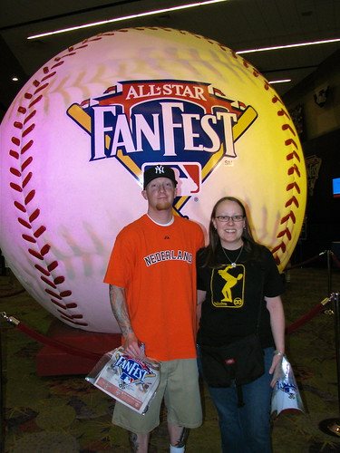 Us at Fan Fest