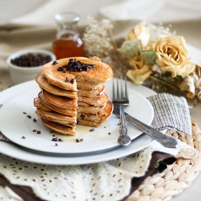 Peanut Butter Pancakes Tower-14