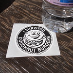 Calgary Stampede - I Survived Doughnut Burgers Sticker