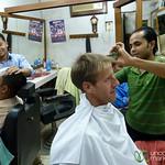 Dan Gets Hair Cut in Srimongal, Bangladesh