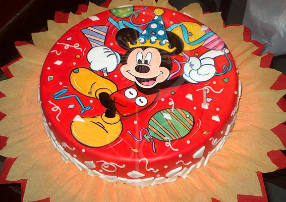 Torta de cumple Mickey Mouse | Flickr - Photo Sharing!