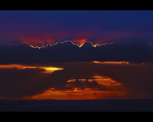 sunset newmexico fire smoke albuquerque nm wildfire lasconchas lasconchasfire
