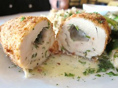 Chicken Kiev cross section