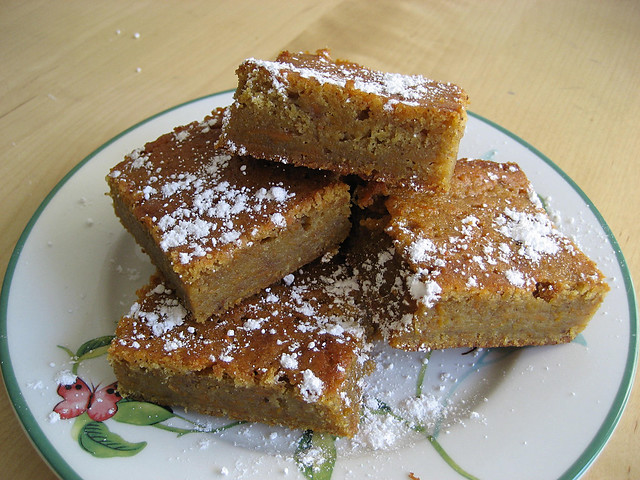 Golden Yam Brownies | Flickr - Photo Sharing!