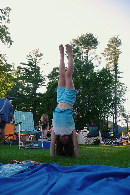 Handstand at Tanglewood