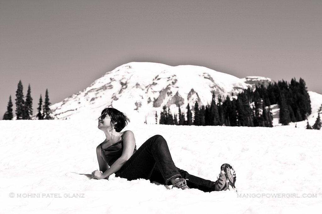 divya on rainier
