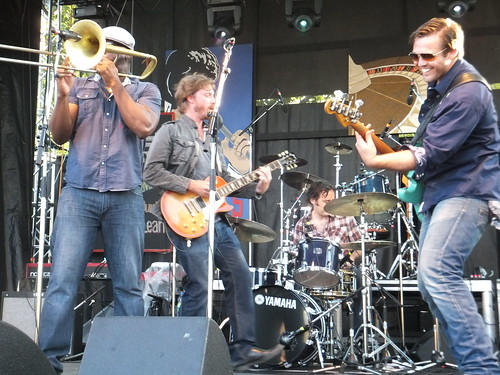 Jamie McLean Band at Ottawa Bluesfest 2011