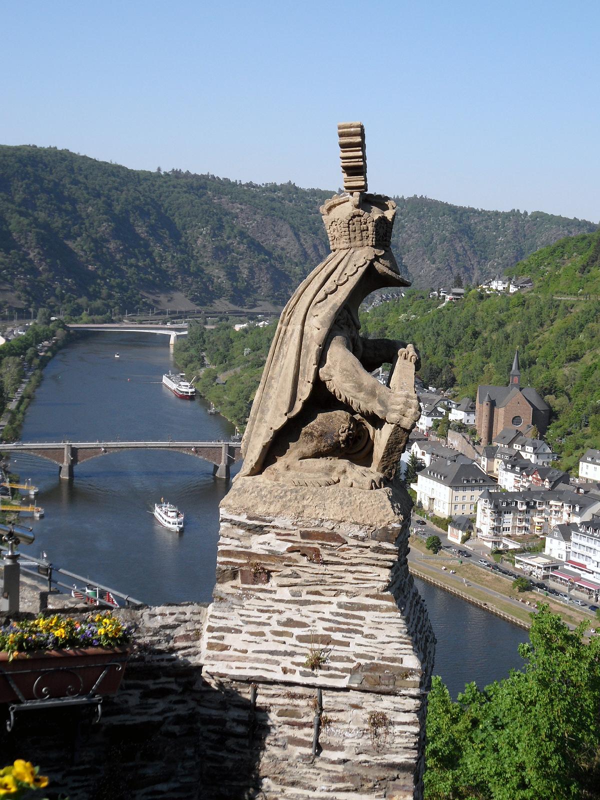Cochem Castle Rhineland Palatinate Tripomatic