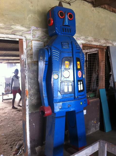 Robot casket