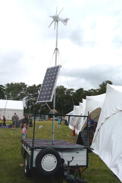 Portable Solar/Wind Generator   Flickr - Photo Sharing!