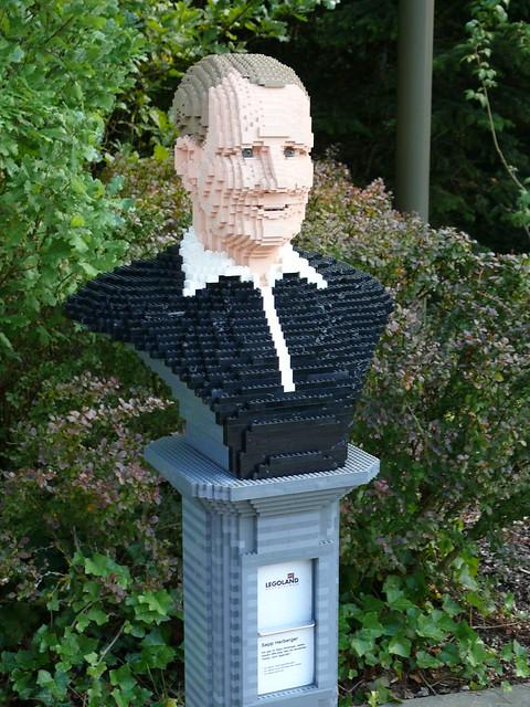 LEGO-Büste: Sepp Herberger