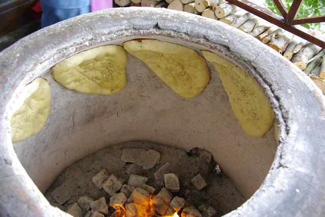 making bread